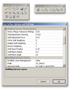 TheoLt Settings & Toolbars
